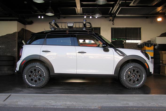 Lifted Mini Cooper Countryman The Beachman Mini Countryman